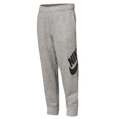 Nike Boys Futura Cuffed Pants Grey 4, Grey, rebel_hi-res