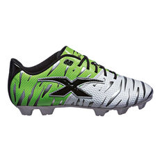 X Blades Young Wild Thing Junior Football Boots White/Green US 11 Junior, , rebel_hi-res