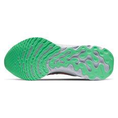 Nike React Infinity Run Flyknit 2 Mens Running Shoes, Brown/Red, rebel_hi-res