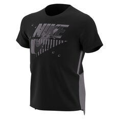Nike Boys Dri-FIT Short Sleeve Dominate Tee Black / Grey XS, Black / Grey, rebel_hi-res