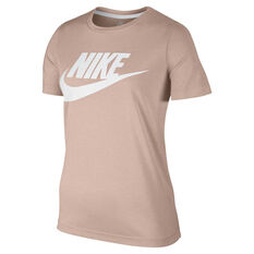 Nike Sportswear Womens Essential Tee Peach XS, Peach, rebel_hi-res