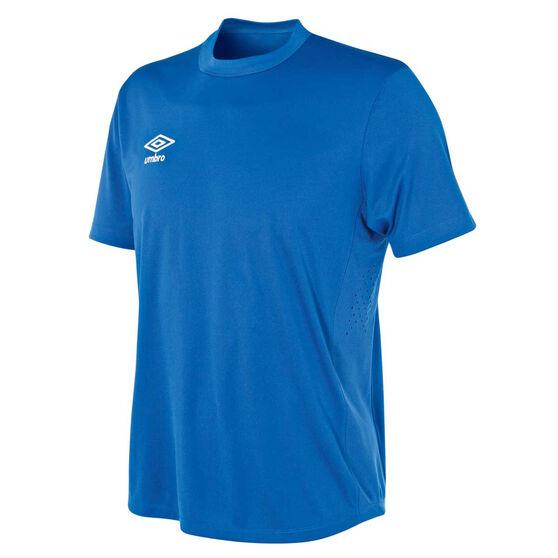 Umbro Mens League Knit Jersey, Blue, rebel_hi-res