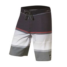 Quiksilver Mens Highline Slab 20in Board Shorts Grey 30, Grey, rebel_hi-res