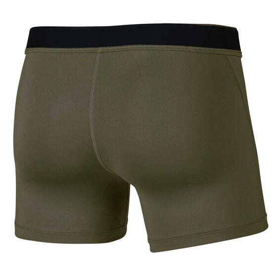"Nike Womens Pro 5"" Shorts Green XL, Green, rebel_hi-res"