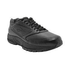 Brooks Dyad Walker 2E Mens Walking Shoes Black / Black US 8, Black / Black, rebel_hi-res