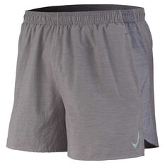 Nike Mens Challenger 5in Brief-Lined Running Shorts Grey M, Grey, rebel_hi-res
