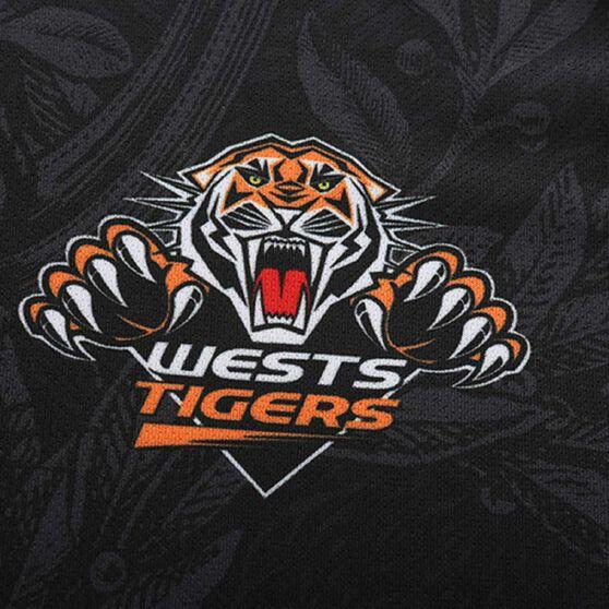 Wests Tigers 2020 Mens Training Tee, Black, rebel_hi-res
