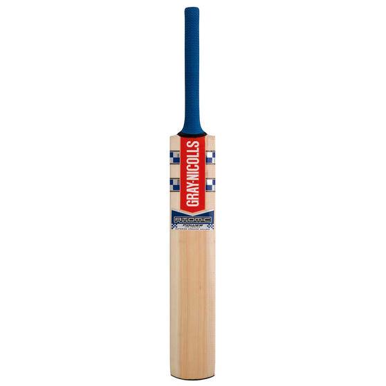 Gray Nicolls Atomic Power Junior Cricket Bat, Blue, rebel_hi-res