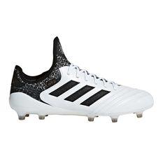 adidas Copa 18.1 Mens Football Boots White / Black US 7 Adult, White / Black, rebel_hi-res