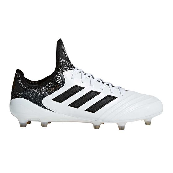 adidas Copa 18.1 Mens Football Boots White / Black US 12.5 Adult, White / Black, rebel_hi-res