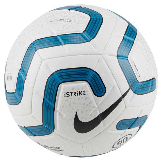 Nike Premier League Strike 2019 Soccer Ball, White / Blue, rebel_hi-res