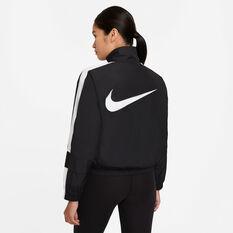 Nike Womens NSW Repel Statement Jacket, Black, rebel_hi-res