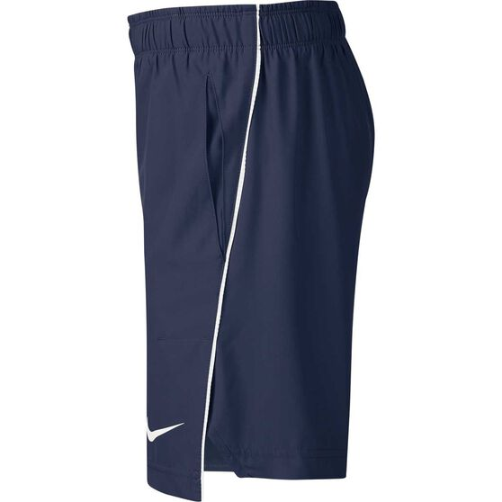 Nike Boys 6in Woven Shorts, Navy / White, rebel_hi-res