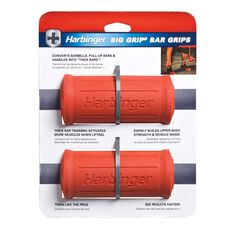 Harbinger Big Grip Bar Grips Red OSFA, , rebel_hi-res