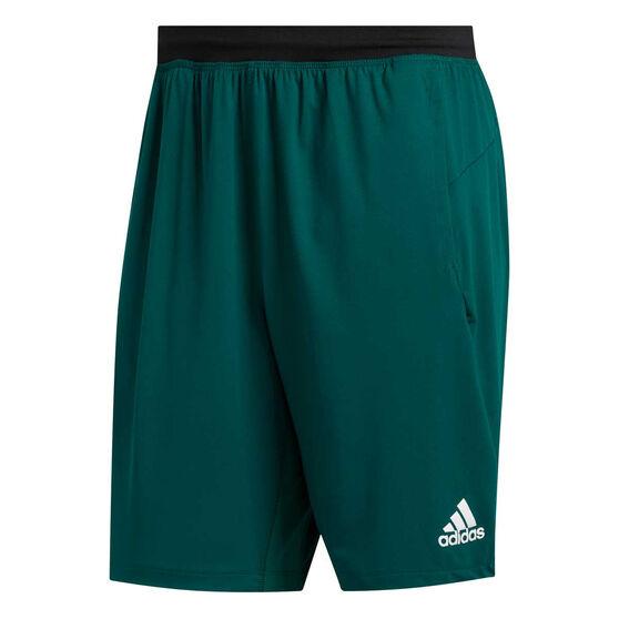 adidas Mens 4KRFT Ultimate Shorts, Green, rebel_hi-res
