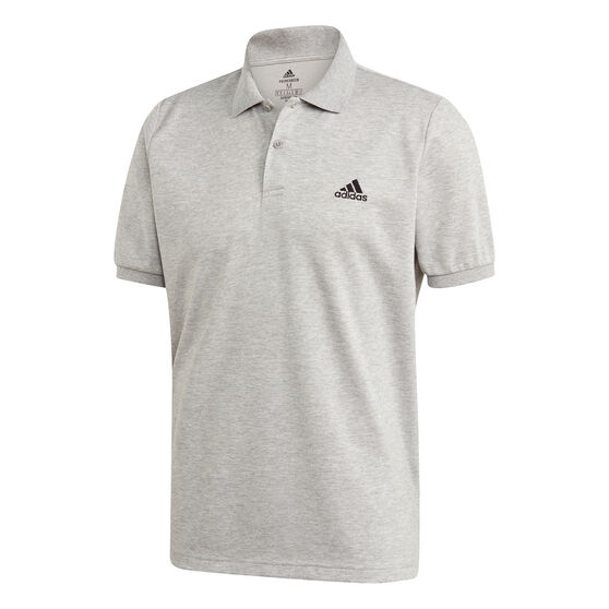 adidas Mens Polo, Grey, rebel_hi-res