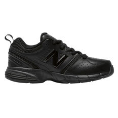 New Balance 625 Kids Cross Training Shoes Black US 4, Black, rebel_hi-res