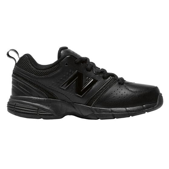 New Balance 625 Kids Cross Training Shoes Black US 1, Black, rebel_hi-res