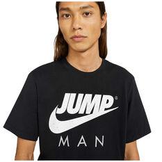 Jordan Mens Air Jordan Tee, Black, rebel_hi-res
