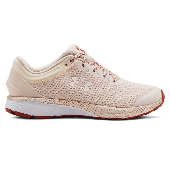Under Armour Charged Escape 3 Womens Running Shoes, Pink, rebel_hi-res