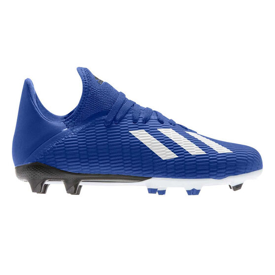 adidas X 19.3 Kids Football Boots, Blue / White, rebel_hi-res