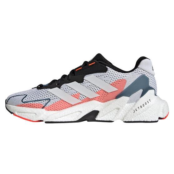 adidas X9000L4 Mens Casual Shoes, White/Black, rebel_hi-res
