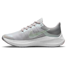 Nike Winflo 8 Premium Womens Running Shoes Grey US 6, Grey, rebel_hi-res