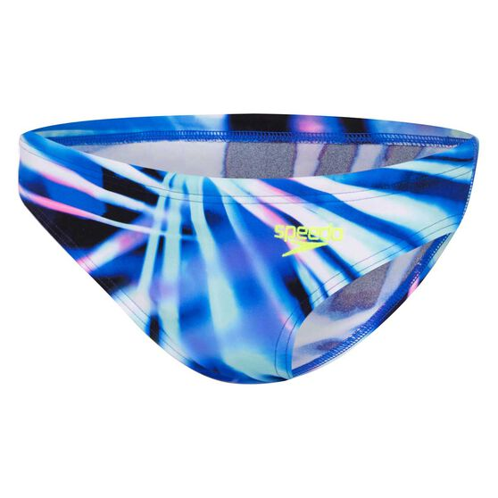 Speedo Womens Rays Low Rise Swim Pants, Print, rebel_hi-res