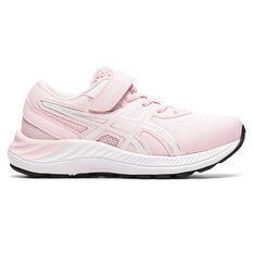 Asics Pre Excite 8 Kids Running Shoes Pink/White US 11, Pink/White, rebel_hi-res