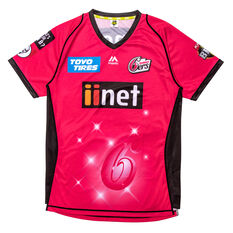 Sydney Sixers 2019 Mens Jersey Magenta S, Magenta, rebel_hi-res