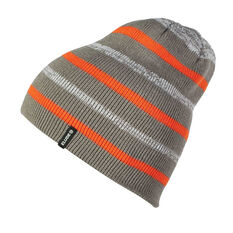 Elude Mens Fakie Beanie Grey / Orange OSFA, , rebel_hi-res
