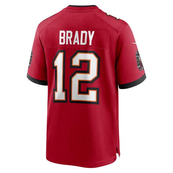 Tampa Bay Buccaneers Tom Brady Mens Jersey, Red, rebel_hi-res