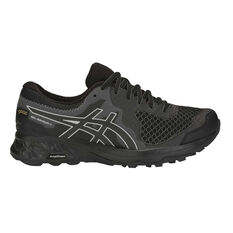 Asics GEL Sonoma 4 GTX Womens Trail Running Shoes Black / Grey US 6, Black / Grey, rebel_hi-res