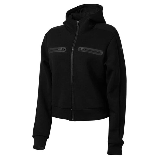 Running Bare Womens Playing The Field Jacket, Black, rebel_hi-res