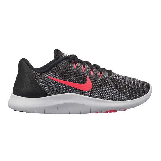 low priced 451cd e7e80 Nike Flex RN 2018 Girls Running Shoes Black   Pink US 7, Black   Pink
