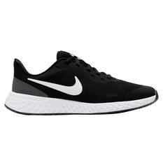 Nike Revolution 5 Kids Running Shoes Black/White US 4, Black/White, rebel_hi-res