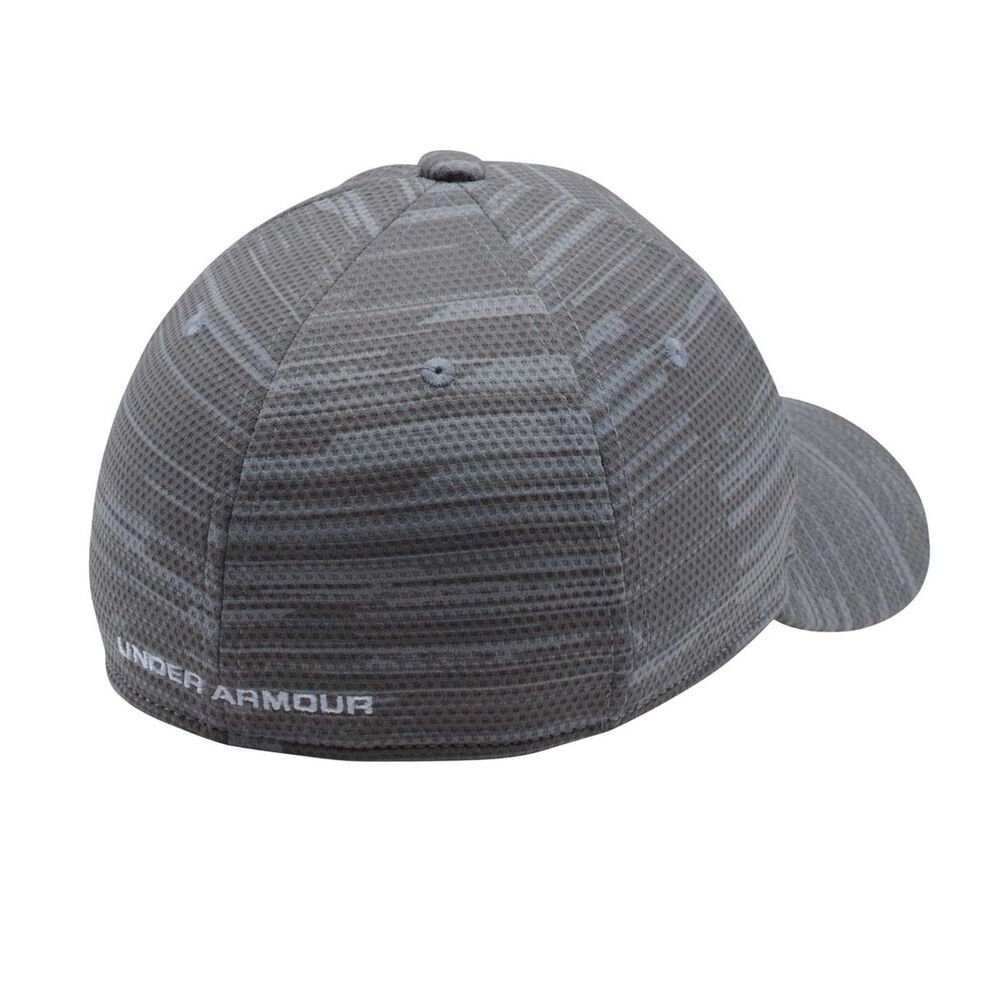 00fce1edef9 Under Armour Boys Printed Blitzing Cap Grey   Black XS   S Junior ...