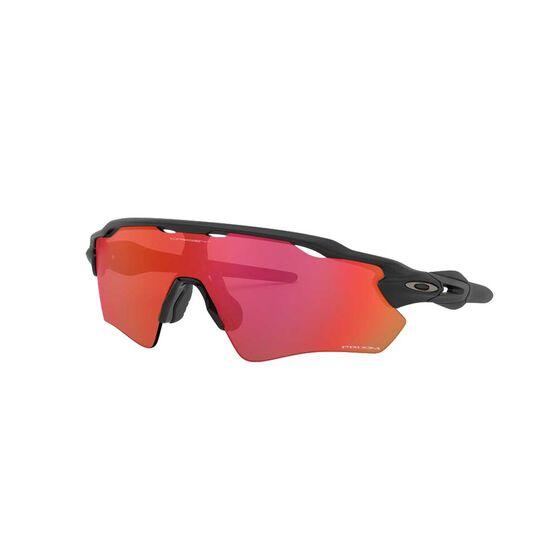 Oakley Radar EV Sunglasses Matte Black / Prizm Trail Torch, Matte Black / Prizm Trail Torch, rebel_hi-res