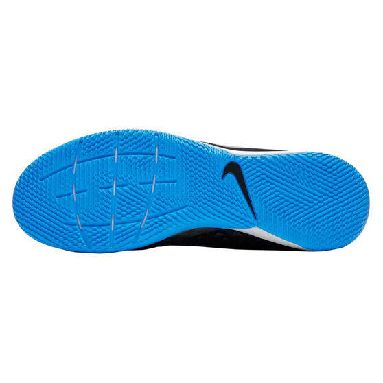Nike Tiempo Legend VIII Academy Indoor Soccer Shoes, Black / Blue, rebel_hi-res