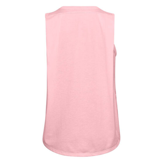 Under Armour Womens Project Rock Tank, Pink, rebel_hi-res