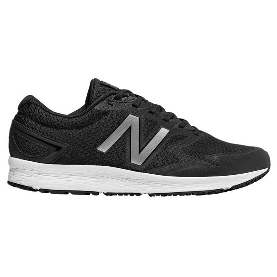 New Balance Flash Mens Running Shoes, Black / Grey, rebel_hi-res