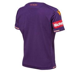 Perth Glory 2019/20 Youth Home Jersey Purple S, Purple, rebel_hi-res