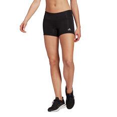 adidas Womens Own the Run Short Tights, Black, rebel_hi-res
