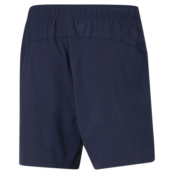 Puma Mens Active Woven Shorts, Navy, rebel_hi-res