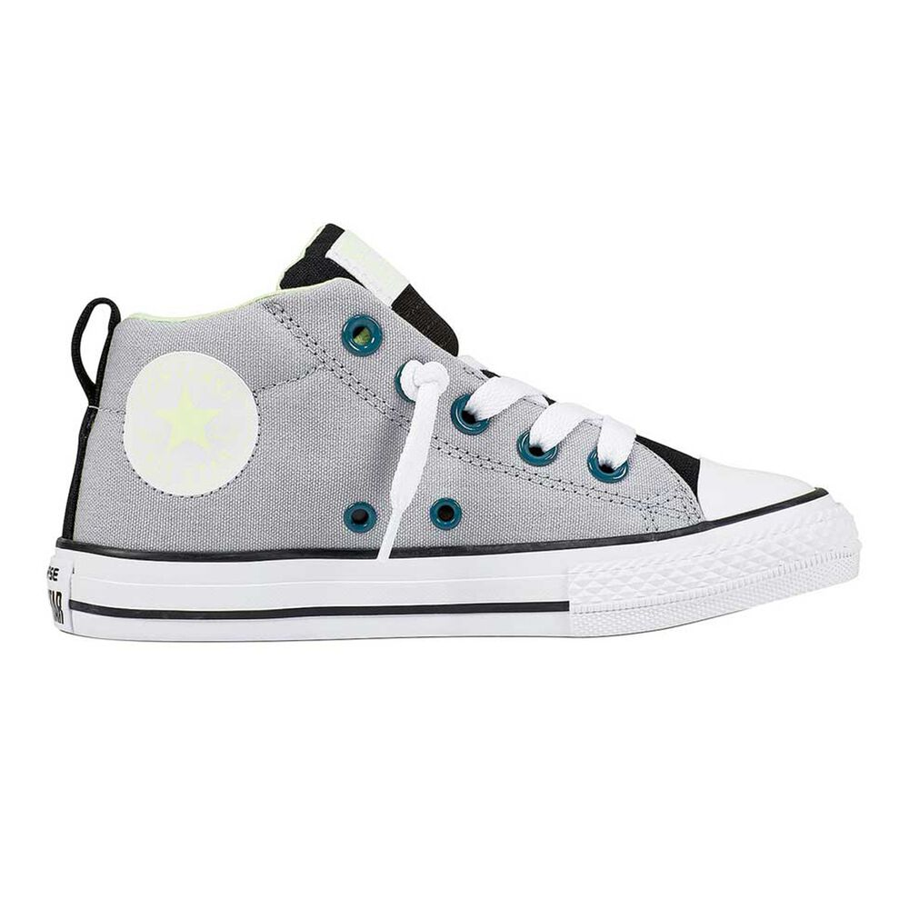 f14ea00bdc2c Converse Chuck Taylor All Star Street Kids Casual Shoes Grey   Black US 3