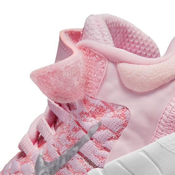 Nike Free RN 2021 Toddlers Shoes, Pink/White, rebel_hi-res