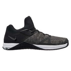 Nike Metcon Flyknit 3 Mens Training Shoes Black / White US 8.5, Black / White, rebel_hi-res