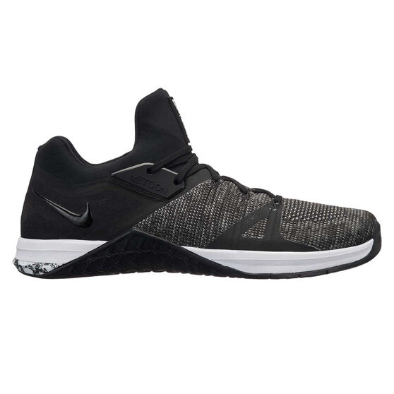 Nike Metcon Flyknit 3 Mens Training Shoes, Black / White, rebel_hi-res