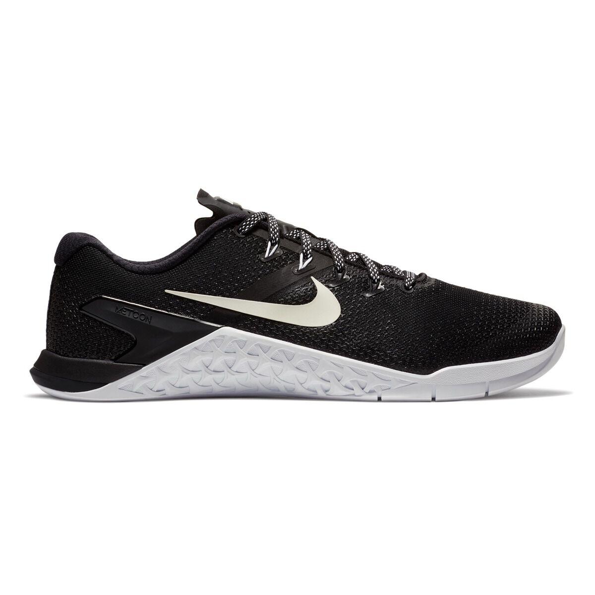 938bc19271a ... cheapest nike metcon 4 mens training shoes black white us 12 black  white b7ab9 080da