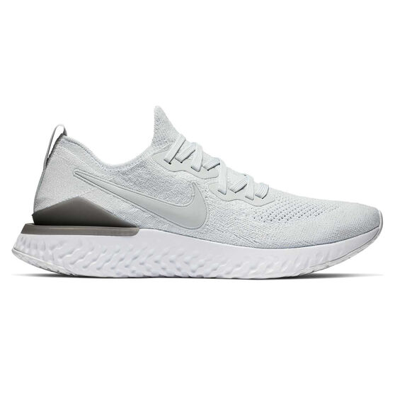 super popular 5ff6a 3f47d Nike Epic React Flyknit 2 Mens Running Shoes, White, rebel hi-res